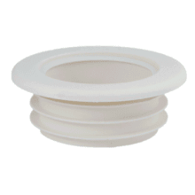 "PipeSnug White to fit 40mm/1½"" solvent weld waste"