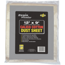 12 x 9 Calico Cotton Dust Sheet