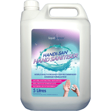5 Litre WHO recommended 75% Alcohol Handrub