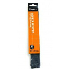 Abrasive Mini Strips Medium 180 grit (Pack of 10)