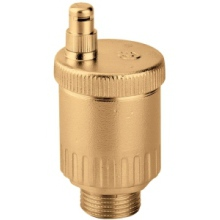"Automatic Air Vent 3/8"" M Brass"