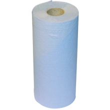 Blue Paper Towel Roll - 3ply - 100 Sheets