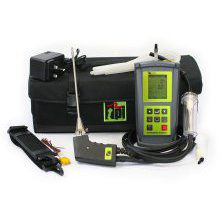 Combustion Flue Gas Analyser Kit c/w Tightness & CO Build Up Test inc. Dual Temperature & Pressure