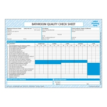 CORGIdirect Bathroom Quality Checklist - CP40