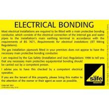 CORGIdirect Electrical Bonding Labels - WL9
