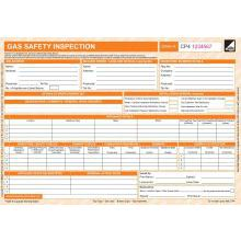CORGIdirect Gas Safety Inspection Form - CP4 - New Design