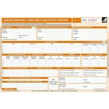 CORGIdirect Leisure Industry Landlord Gas Safety Record - CP2