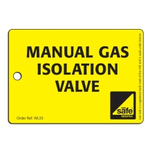 CORGIdirect Manual Gas Isolation Valve - WL35