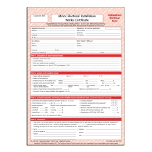 CORGIdirect Minor Electrical Works Certificate - CP22