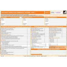 CP42 Gas Safety Inspection Form