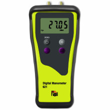 Dual Input Digital Manometer (2 Decimal Place Resolution) c/w Rubber Boot