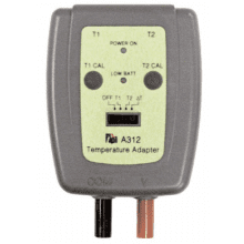 Dual Input Temperature Adaptor for DMMs