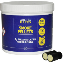 Encapsulated smoke pellets (100 x 5gm)