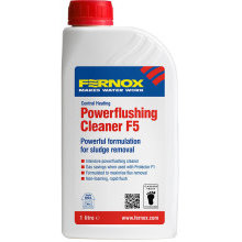 Fernox F5 Powerflush Cleaner 1 Litre