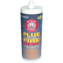 Flue & Fire Seal 1500C Silicate Cement - Natural