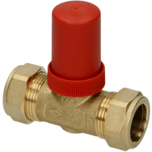 Honeywell Home DU144 Automatic By-Pass Valve 22mm - Straight