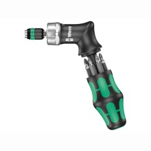 KK Pistol RA High Torque Ratchet Screwdriver & 6 Bits