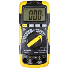 Low Cost Multimeter with Temperature