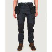 P12 RAW DENIM WORK TROUSERS WITH DETATCHABLE HOLSTER POCKETS