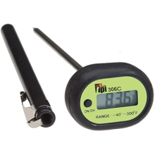 Pocket Digital Thermometer, Penetration Tip, Water Resistant