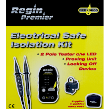 Regin Electrical Safe Isolation Kit