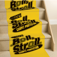 Roll & Stroll Premium Carpet Protector 600mm x 25m