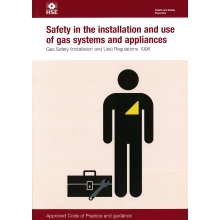 Safety in the Installation and use of gas systems and appliances. Approved Code of Practice & Guidance
