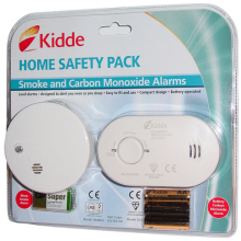 Smoke Alarm/7yr CO Alarm BS & Kitemarked Twin Pack