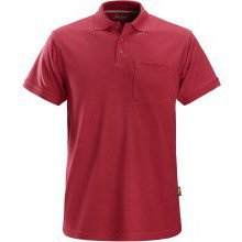 Snickers Classic Polo Shirt Red