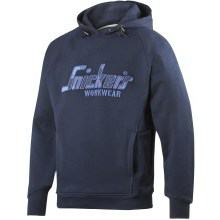 Snickers Hooded Sweatshirt Navy / Navy Camo S (FREE T-Shirt - See Product Description For Info)