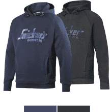 Snickers Hooded Sweatshirt Steel Grey / Grey Camo S