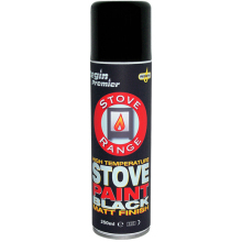 Stove Range - Stove Paint - Black - 250ml