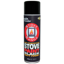 Stove Range - Stove Paint - Black - 450ml