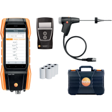 Testo 300LL 'Longlife' set with NOx + Printer