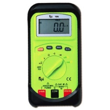 TPI Digital Multimeter, Auto Ranging, Palm Size c/w 400mA & 40Meg Ohms & Continuity