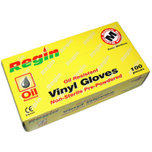 Vinyl Gloves Box (100) - Medium