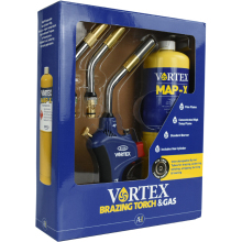 VORTEX Brazing Torch Box With MapX Gas