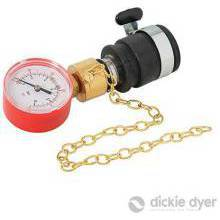 Water Pressure Gauge 0-25 Bar 0-360Psi